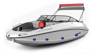 LED фары на лодку, катер
