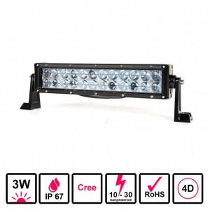 Светодиодная балка 72 Ватт комбинированного света 30 см