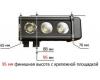 Светодиодная балка 120 Ватт комбинированного света 52 см
