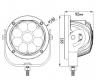 Светодиодная балка 45 Ватт дальнего света 14 см