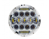 Светодиодные фары chrome 75 Ватт комбинированного света 18 см