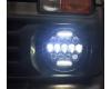 Светодиодные фары 75 Ватт комбинированного света 18 см